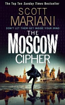 Audio Book : The Moscow Cipher by, Scott Mariani