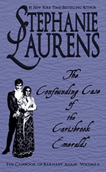 Audio Book : The Confounding Case of the Cairsbrook Emeralds by, Stephanie Laurens