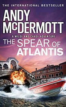 Audio Book : The Spear of Atlantis by, Andy McDermott