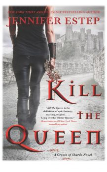 Audio Book : Kill The Queen by, Jennifer Estep