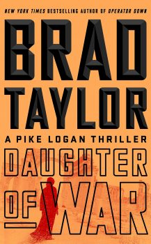 Audio Book : Daughter of War By, Brad Taylor