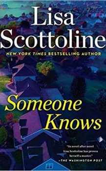 Audio Book : Someone Knows, by Lisa Scottoline