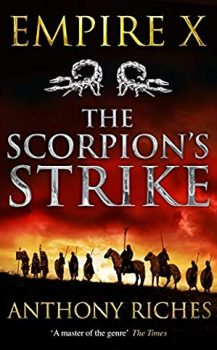 Audio Book : The Scorpion's Strike by, Anthony Riches
