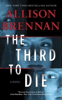 Audio Book : The Third to Die by, Allison Brennan